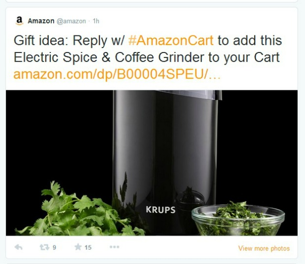 Shopping Gets Social with New #AmazonCart