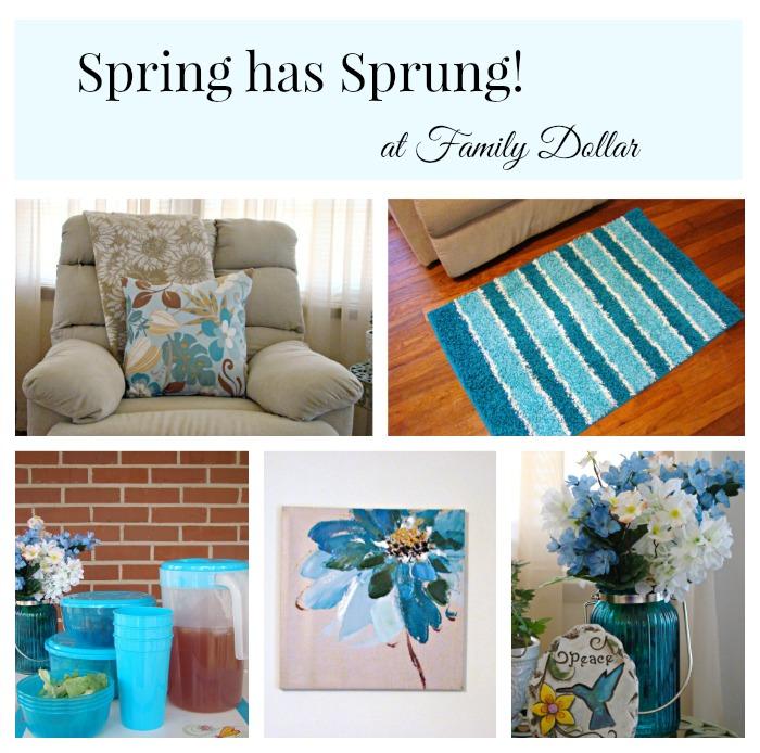 Family Dollar Spring Decor