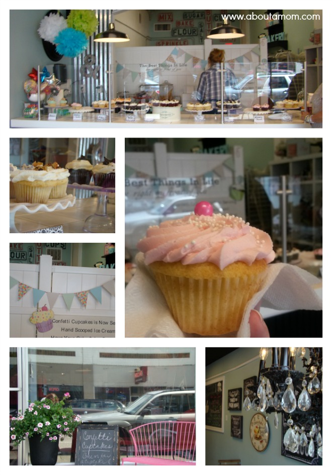 The Cutest Cupcake Shop Ever - Confetti Cupcakes in Issaquah, Washington