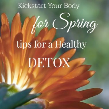 Tips for a Healthy Detox