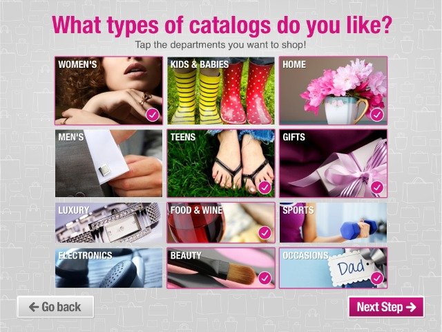Catalog Spree Shopping App