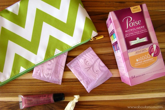 Get a Free Sample of Poise Microliners with SAM