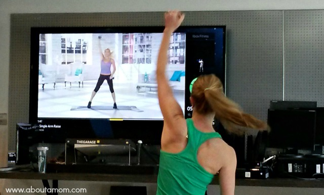 Microsoft Champions Sumnmit - Xbox Fitness Demonstration