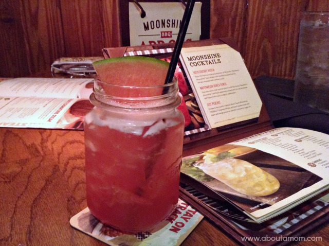 New Moonshine BBQ Menu at Outback Steakhouse