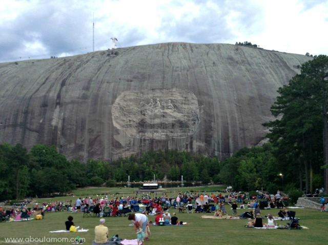 New Summer Lasershow at Stone Mountain Park