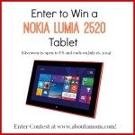 Nokia Lumia 2020 Tablet Giveaway on About A Mom