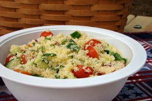 Picnic Perfect Couscous Salad Recipe
