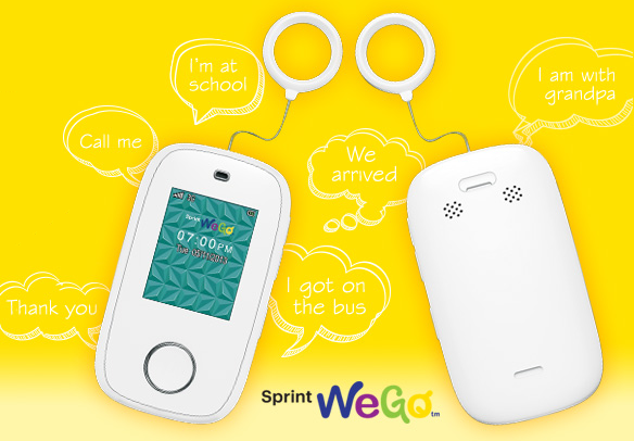 Sprint WeGo Starter Phone for Kids