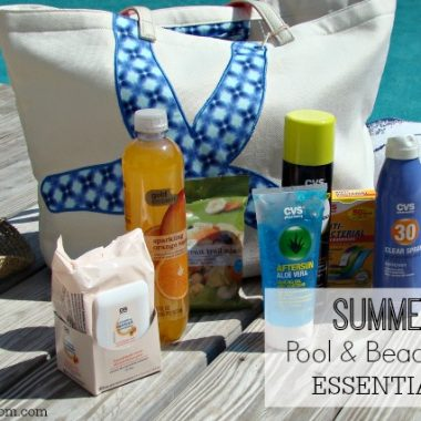Summertime Pool and Beach Bag Essentials