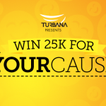 Win 25K For Your Cause