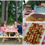 A Simple Backyard Cookout - Spreading the Happy