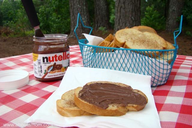 Cinnamon Toast with Nutella