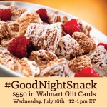 #GoodNightSnack Twitter Party on 7/16 at 12 ET