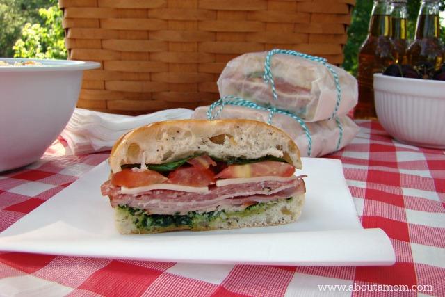 Italian Ciabatta Sandwiches