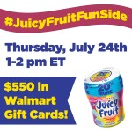 #JuicyFruitFunSide Twitter Party 7-24