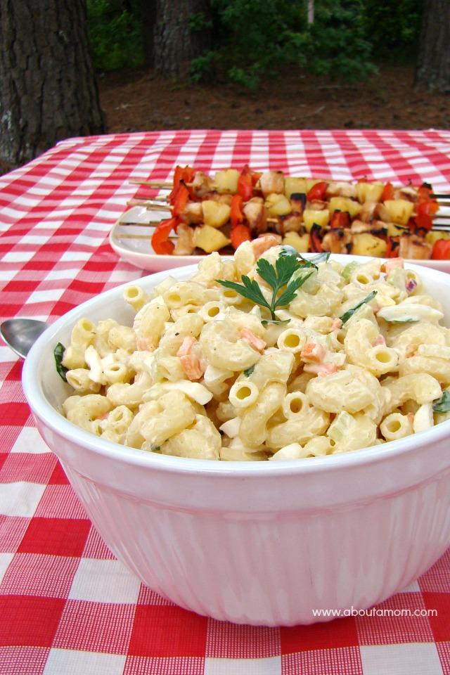 Lemony Macaroni Salad Recipe