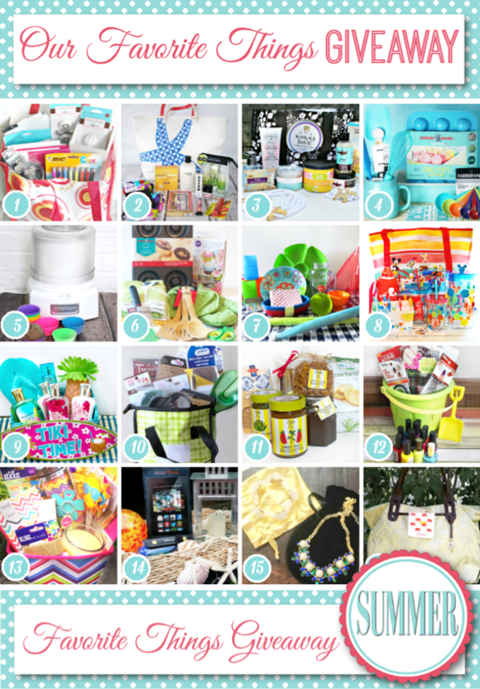 My Favorite Summer Things Giveaway at About A Mom