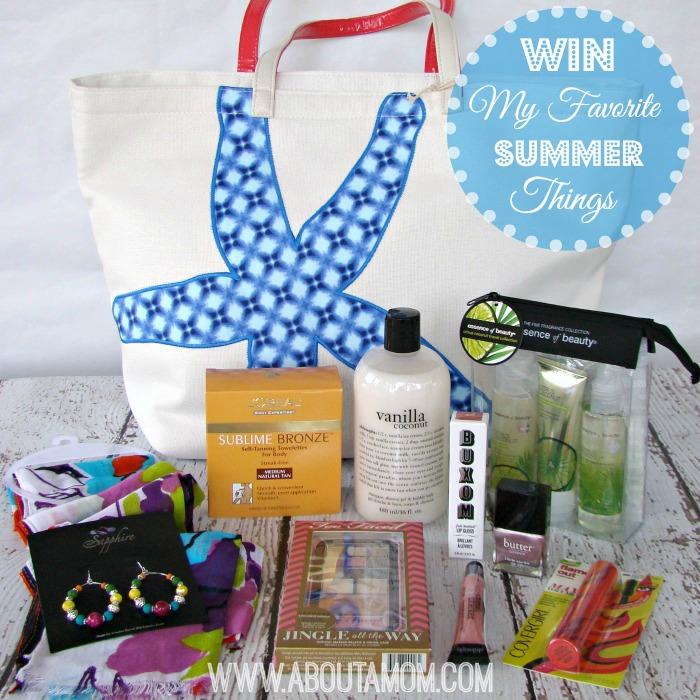 My Favorite Summer Things Giveaway on About A Mom