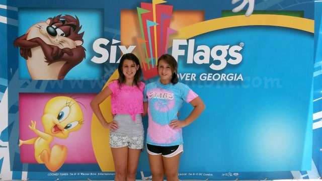 Posed Picture at Six Flags