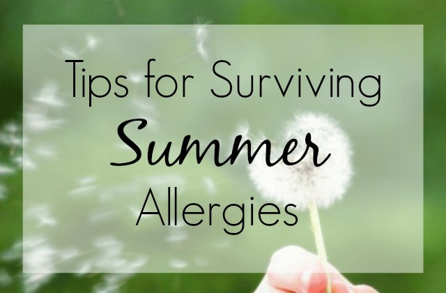 Tips for Relieving Summer Allergies