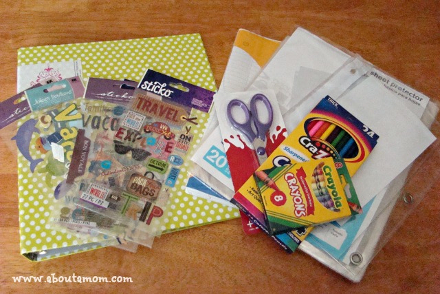 Vacation Scrapbooking Kit for Kids