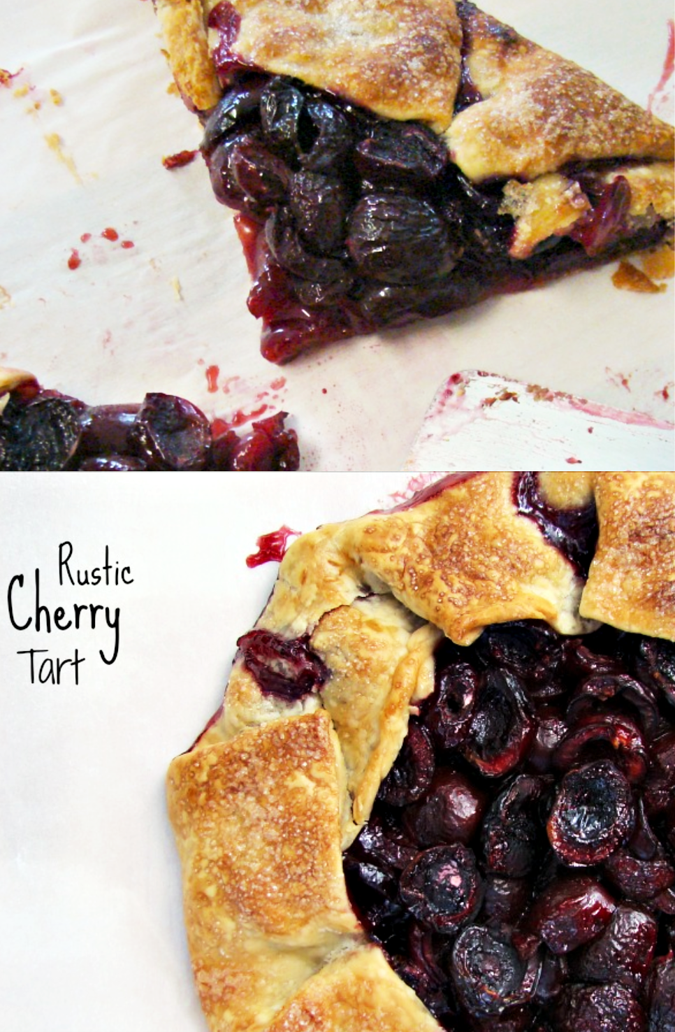 Cherries are one of the best things about summer. This rustic cherry tart recipe is simple to prepare and deliciously sweet.