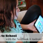 Back to School with the Nextbook 8 Android Tablet