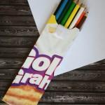 Cereal Box Pencil Case