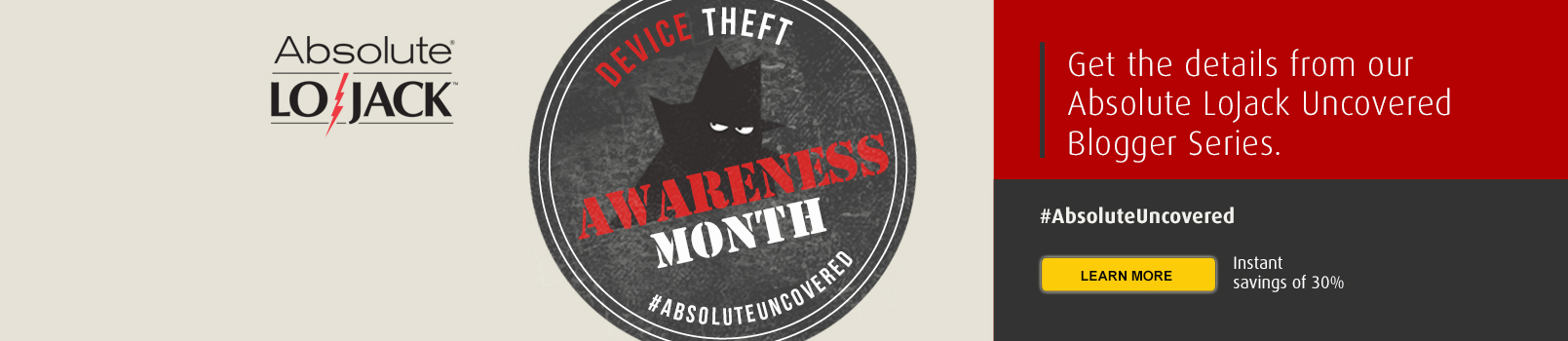 Device Theft Awareness Month - Absolute LoJack Uncovered