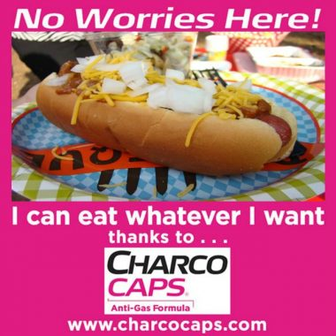 Enjoy Your Favorite Foods Without Worry Thanks to CharcoCaps