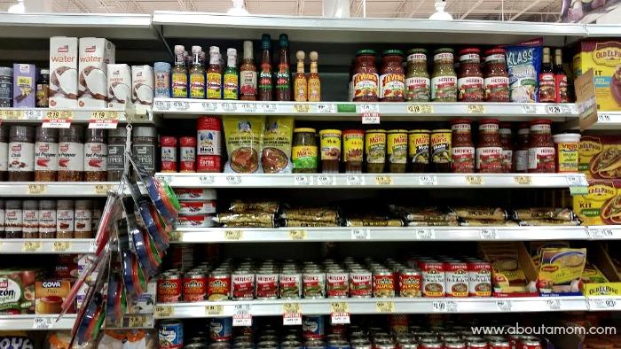 International Foods Aisle at Publix
