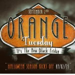 Join Us for the #OrangeTuesday Halloween Kick-Off Twitter Party