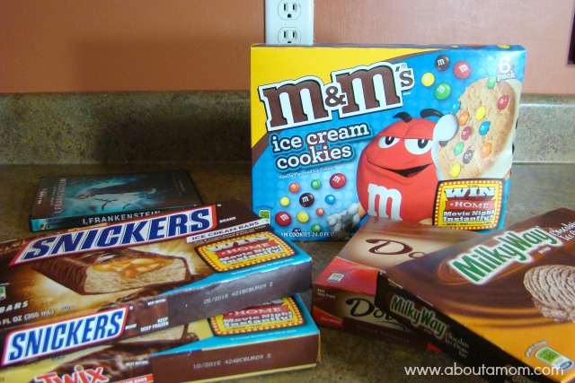 Movies Made Better with a Mars Ice Cream Party