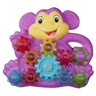 New Toys from Hasbro - Stack N Spin Monkey Gears Toy