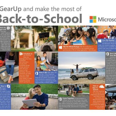 microsoft back to school tech