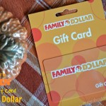 Celebrate Fall $25 Family Dollar Gift Card Giveaway