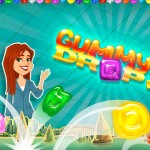 Gummy Drop Match-3 Puzzle Game + iPad Mini Sweepstakes