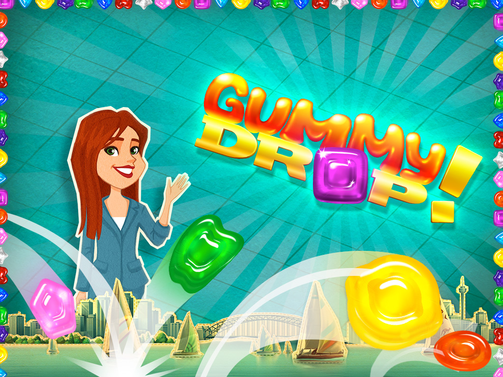 gummy drop match 3 puzzle game ipad mini sweepstakes