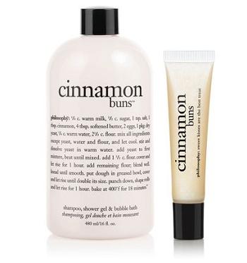 cinnamon buns bath duo