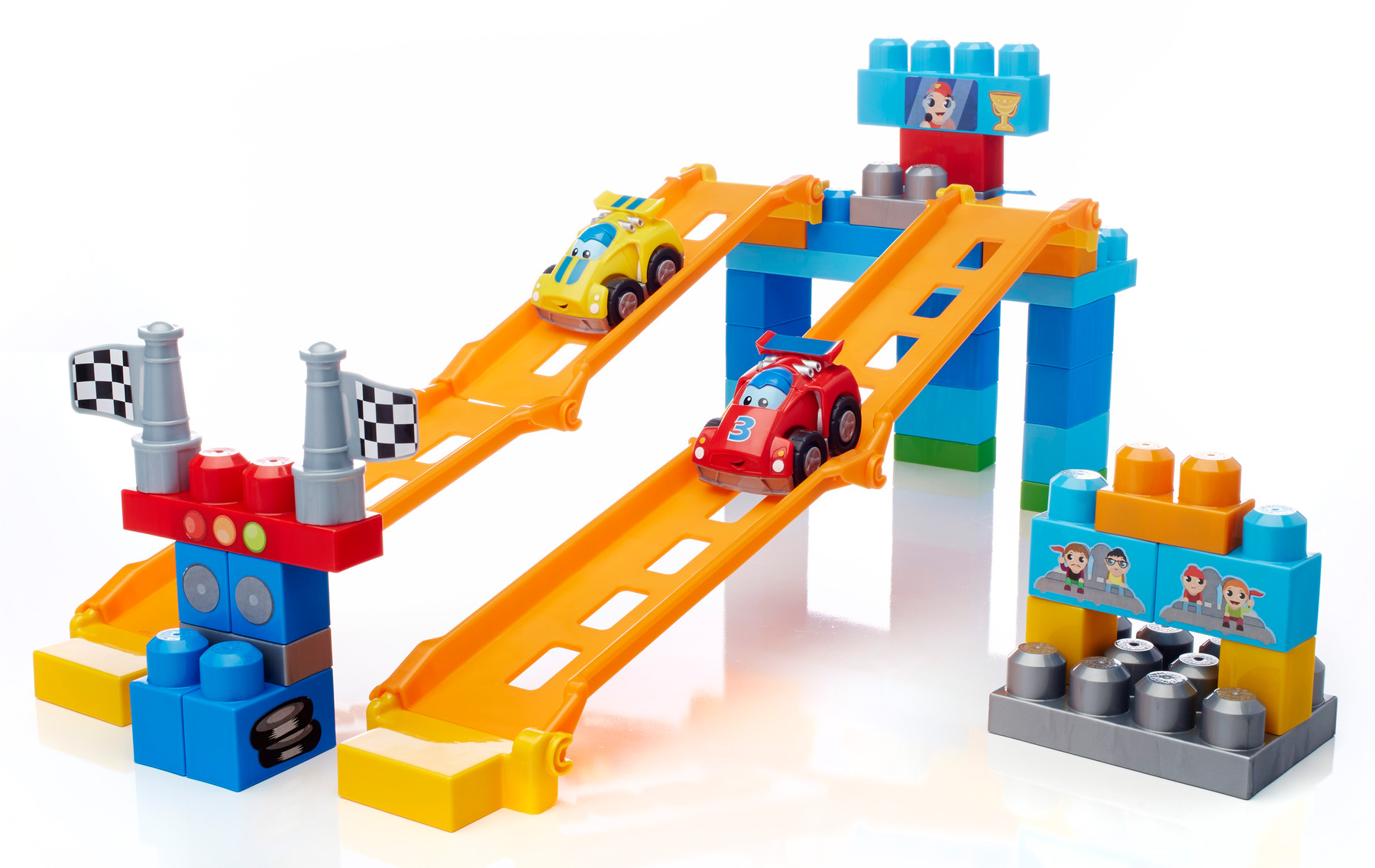 Mega bloks fast tracks raceway giveaway about a mom for Builders first