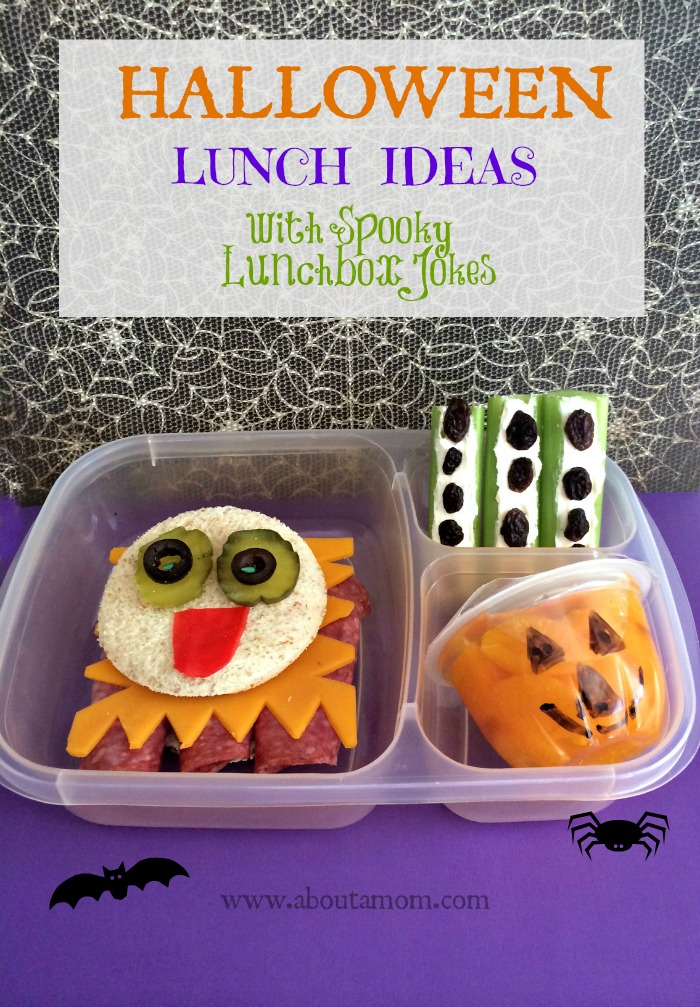 Halloween Lunch Ideas with Spooky Lunchbox Jokes Printable