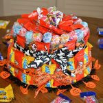How to Make a Halloween Candy Cake