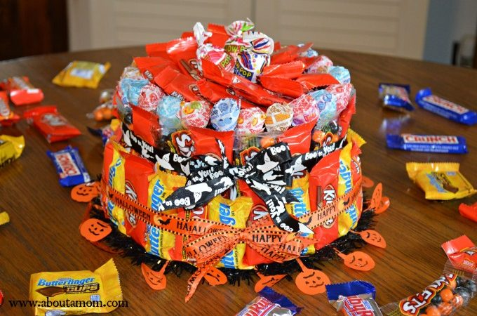 How to Make a Candy Cake for Halloween