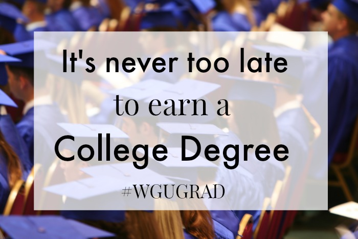 It's Never Too Late to Earn Your College Degree
