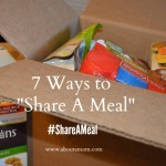 Unilever Project Sunlight Share A Meal - Help End Child Hunger