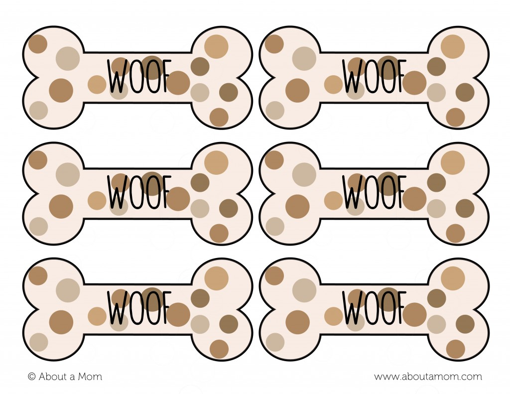 Am loving this dog bone gift tag isn t it cute you can download