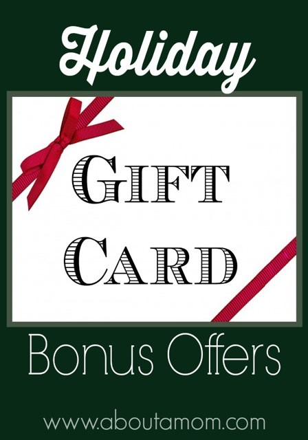 Holiday Gift Card Promotions, Bonus Offers and Freebies