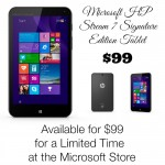 Limited Time Offer: Get the Microsoft HP Stream 7 Signature Edition Tablet for $99