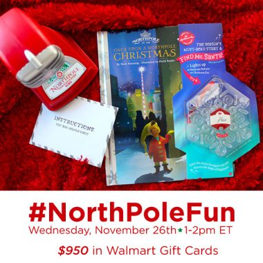 #NorthPoleFun Twitter Party