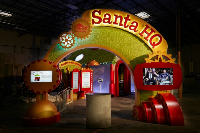 Santa HQ Interactive Experience, presented by HGTV